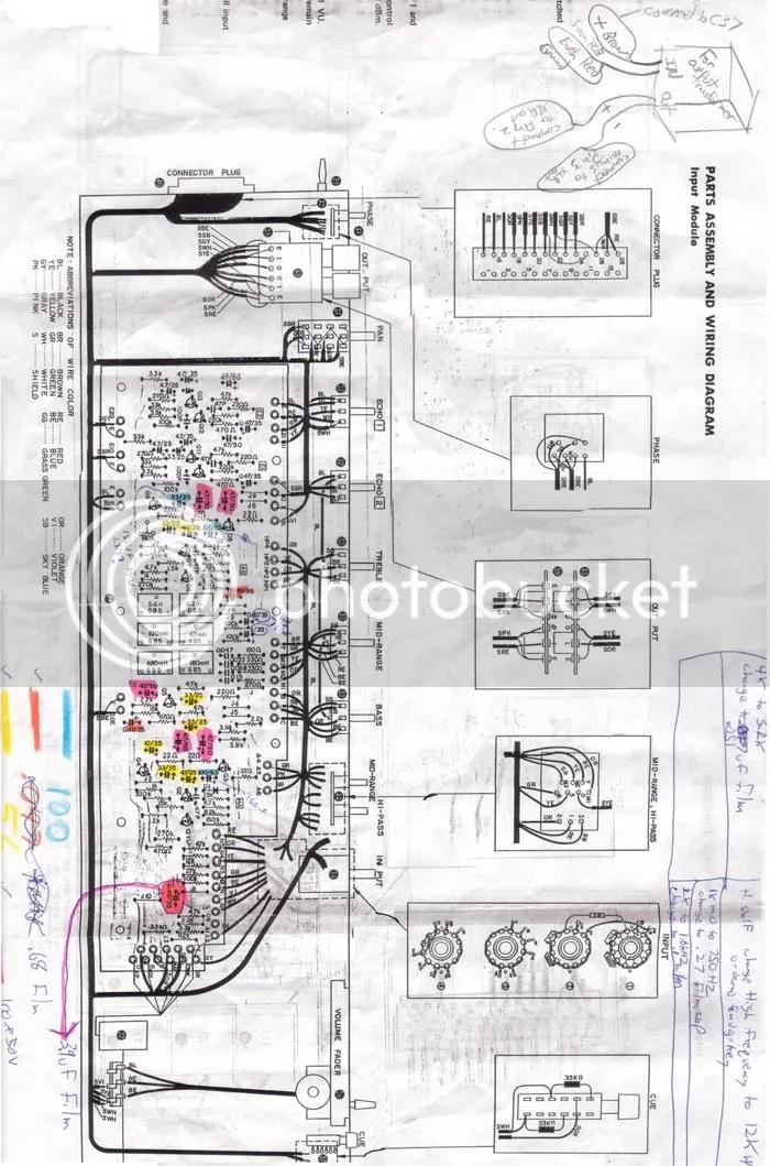 Yamaha PM1000 inductors