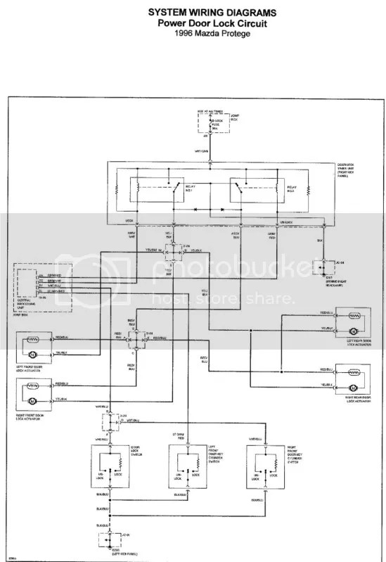 mazda 323 central locking wiring diagram wiring diagram