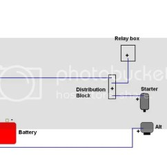 Wiring Diagram For Race Car Kill Switch Light 2 Way Battery Relocation And Master - Honda-tech Honda Forum Discussion