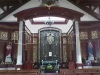 Angel Hill Chapel in Tagaytay where we held the pre- World Youth Day retreat. Image hosted by Photobucket.com