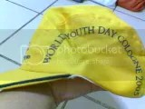 World Youth Day cap. Image hosted by Photobucket.com
