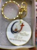 World Youth Day keychain. Image hosted by Photobucket.com