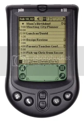 Palm m100 image from Amazon.com