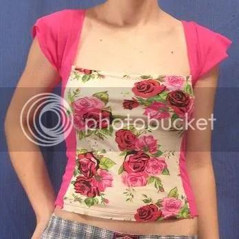 floral tshirt hack