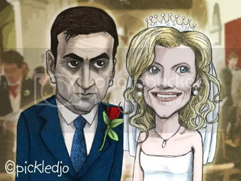 Leanne and Peter's wedding blessing - Corrie