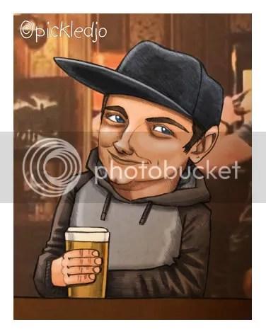 Graham Proctor Caricature Corrie Coronation Street