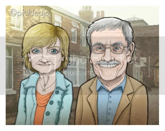 Bill Webster, Auntie Pam, Coronation Street, Pam Dobbs