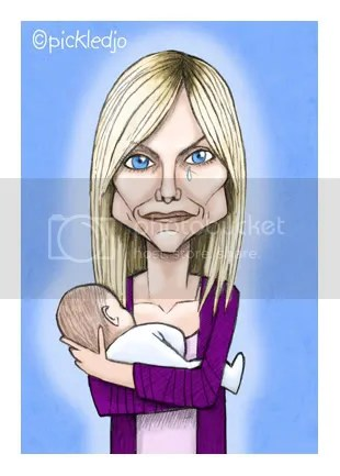 Ronnie Mitchell with stollen Tommy Moon