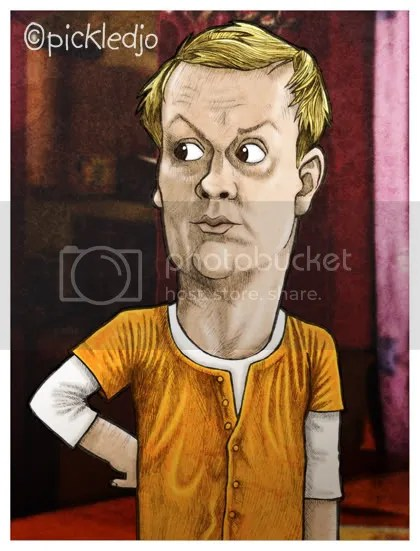 Sean Sully Corrie Caricature