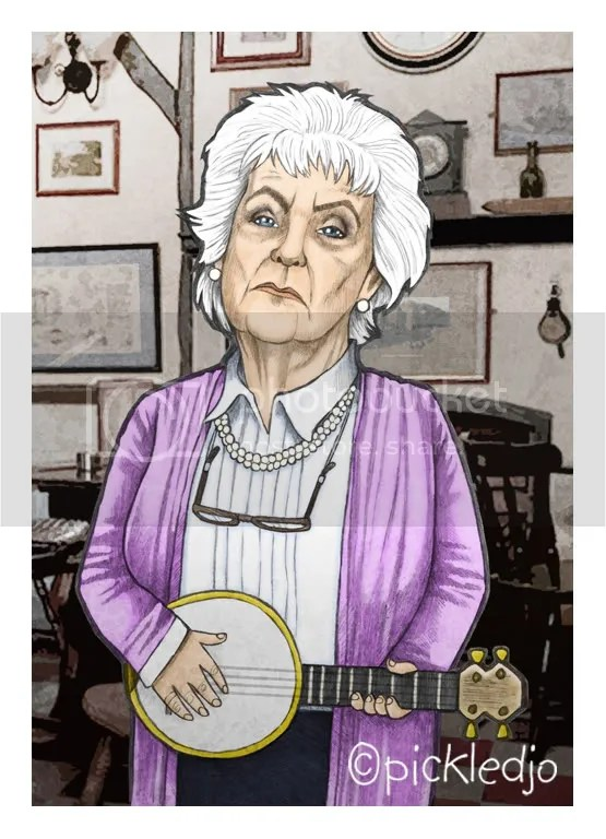 Sylvia Goodwin, Stephanie Cole, coronation street caricature