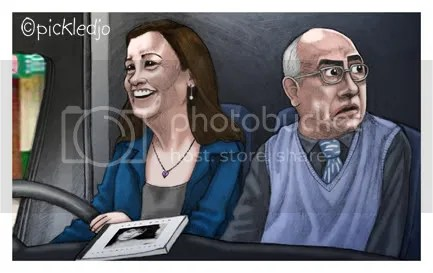 Norris Cole and Mary Taylor Mobile Home, Corrie, Coronation Street