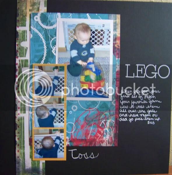 Lego Toss