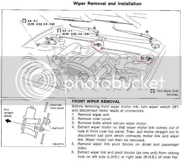 S13 wiper linkage