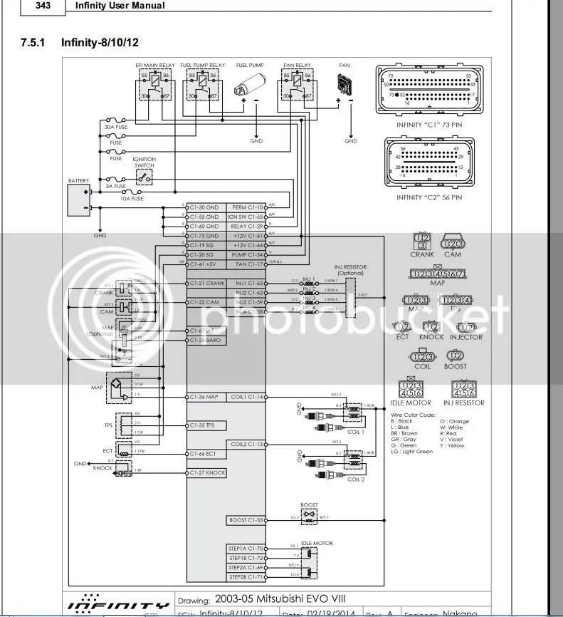 AEM Infinity Supra wiring diagram...