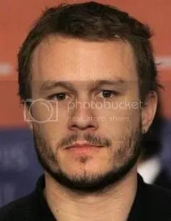 Heath Ledger as the new Joker
