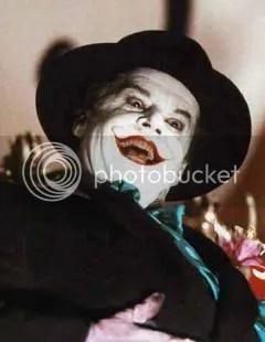 Jack Nicholson as Joker in 1989