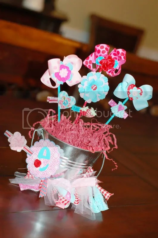 BABY TIME Guest Post Hair Bow Bouquets & A GIVEAWAY! My