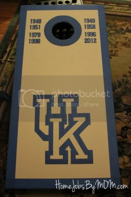 UK cornhole board