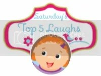 http://www.the-mommyhood-chronicles.com/2012/07/saturdays-top-five-laughs-come-join-our-blog-hop-15/