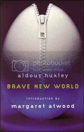 Cover of Brave New World, Vintage Canada 2007.