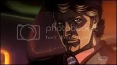 Tony Stark, Japanese animation style.
