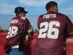 throwback green and portis