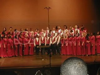 BMHS' concert choir..HOLLER.