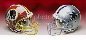 Redskins 18; Cowboys 21