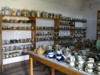 The Dedza Pottery showroom