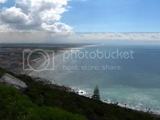 View from the Shark Spotter Lookout Point