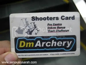 arhcery card small