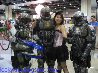 me and the halo guys
