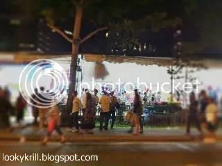 crowd at Geylang