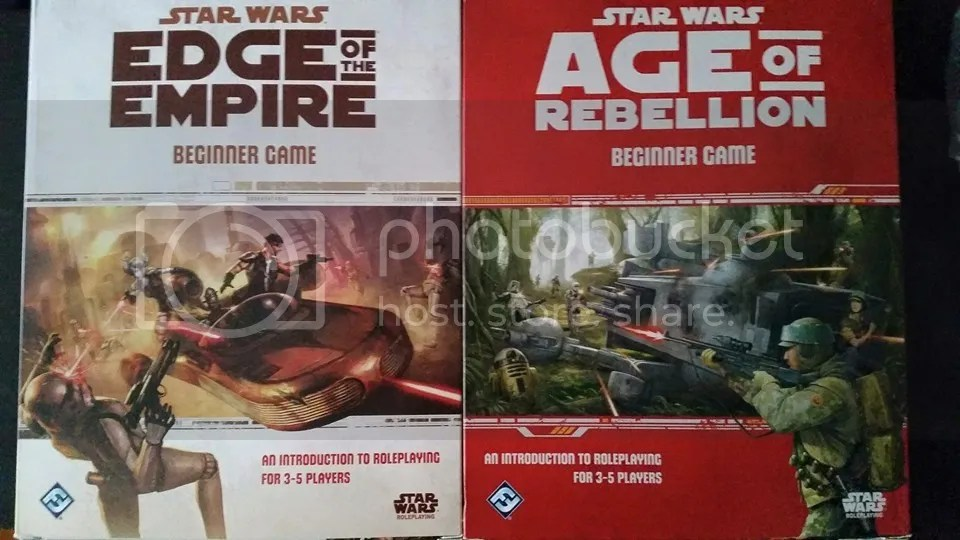 Edge of the Empire and Age of Rebellion