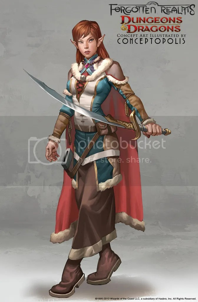The art of DnD in terms of depiction of women has vastly improved.