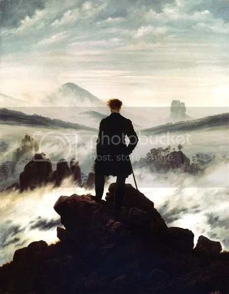 Friedrich–Wanderer above the sea of fog