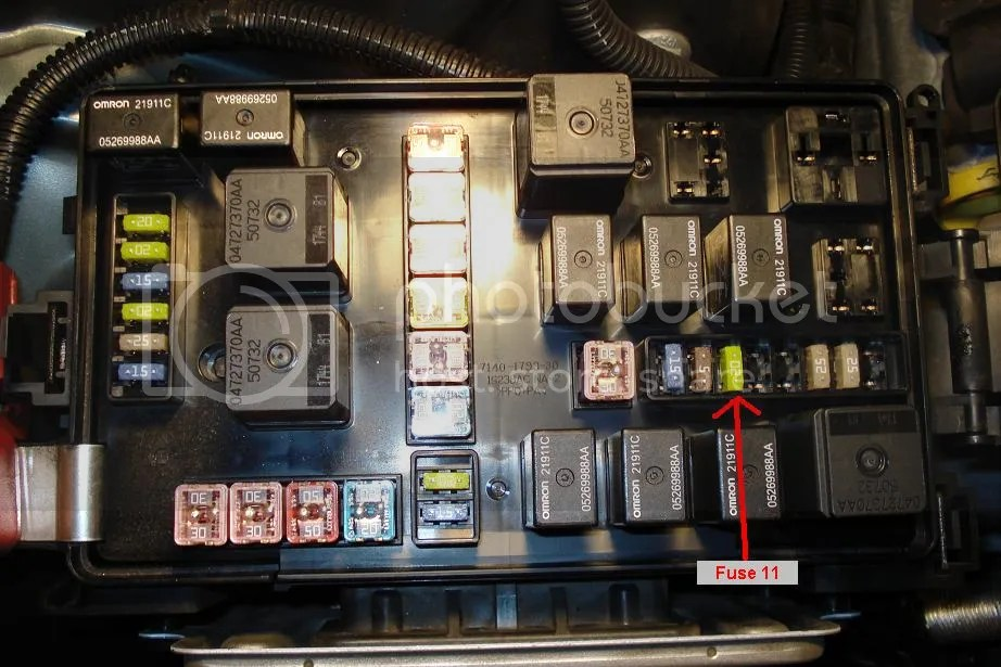 Fuse 2005 Chrysler Sebring Fuse Box Diagram 2007 Chrysler 300 Fuse Box