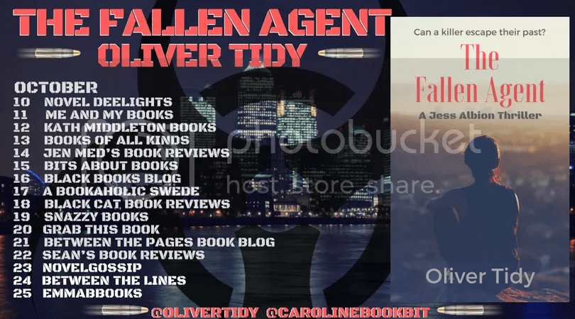 photo The Fallen Agent - Oliver Tidy - Blog Tour Poster 3.0.png
