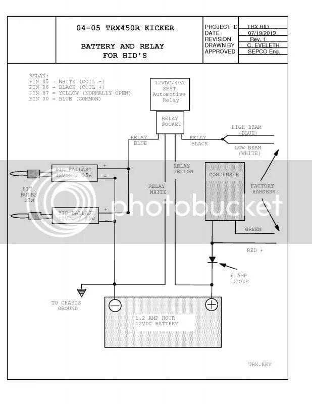 2005 trx450r kicker wiring diagram