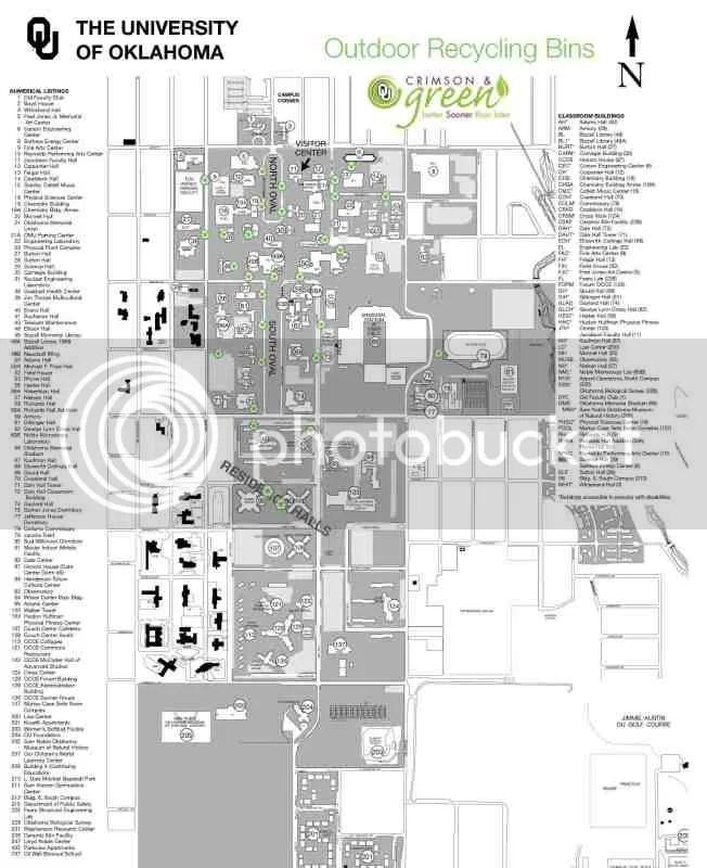 university of oklahoma campus map