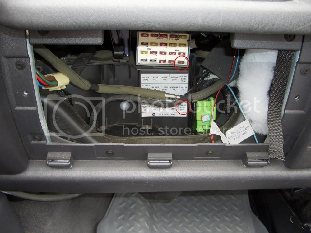 medium resolution of 98 tj dash fuse box wiring diagram mega98 wrangler fuse box manual e book 98 tj