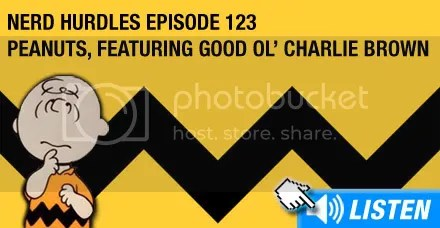 Listen to episode 123 - Charlie Brown