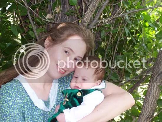 Kieran with Mommy