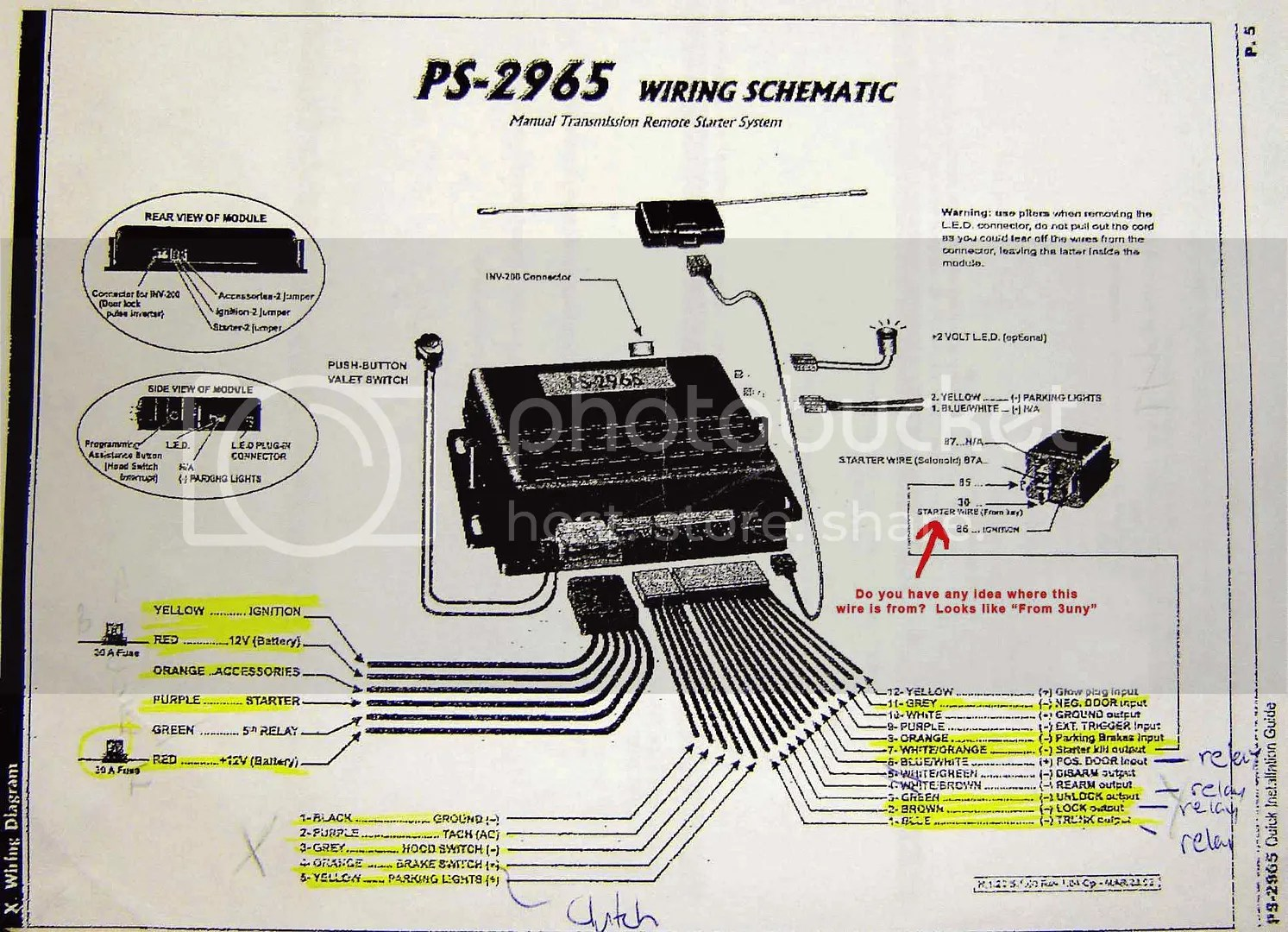 hight resolution of pursuit car alarm wiring diagram