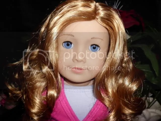 33 Light Skin Curly Red Hair Blue Eyes American Girl