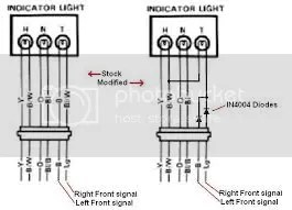 LED Turn Signals, Flasher Relays, and Diode Kits