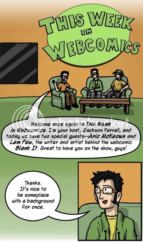 Jackson Ferrell interviews Aric McKeown and Lem Pew of Blank It