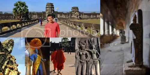 Scenes at Angkor Wat