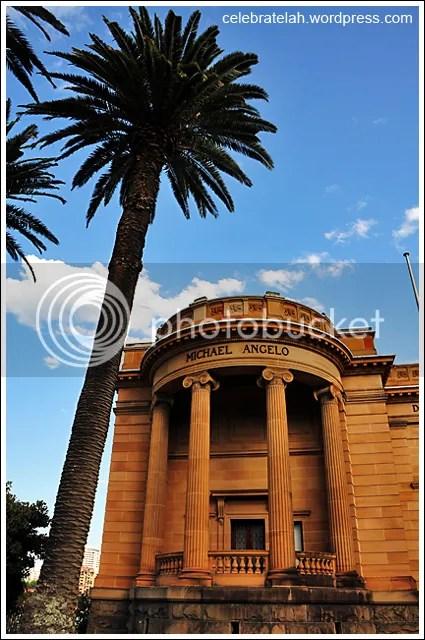 Art Gallery of New South Wales, Sydney, Royal Botanic Gardens