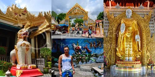 Dhammikarama Burmese Temple collage